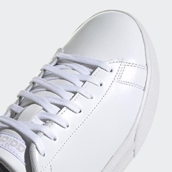 WHITE ADIDAS Womens Hoops 2.0 Sneaker
