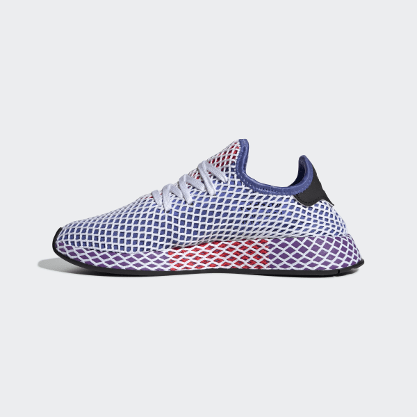adidas Deerupt Runner Shoes White adidas Regional    adidas Deerupt Runner Shoes Purple   title=          adidas US