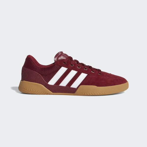 adidas City Cup Shoes Burgundy | adidas UK