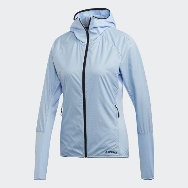 adidas Terrex Skyclimb Fleece Jack Blauw | adidas Officiële Shop