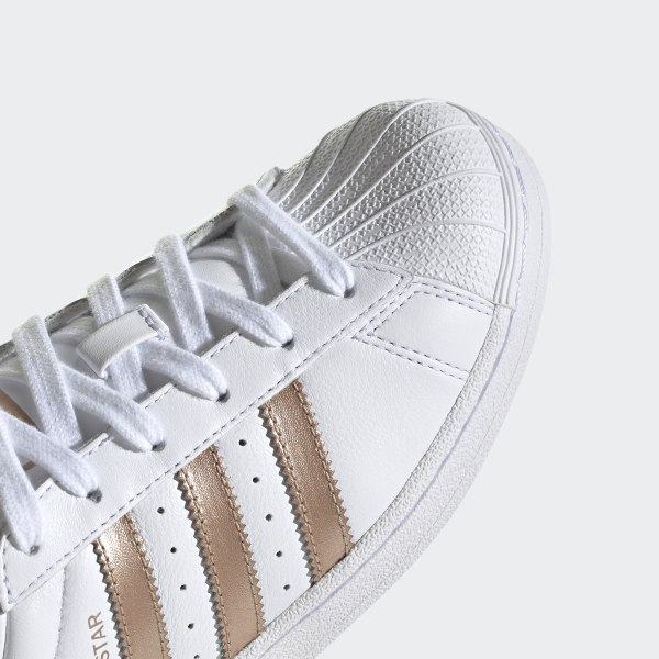 Superstar Shoes Cloud White Cloud White Metallic Silver
