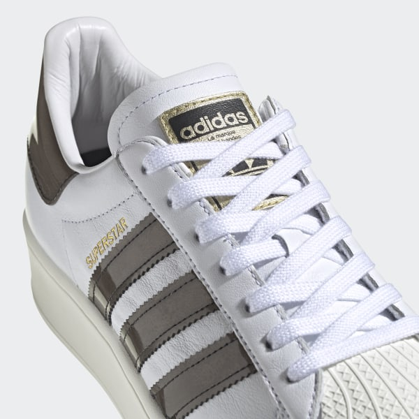 Superstar Bold Schoenen Cloud White / Off White / Core Black FV3356