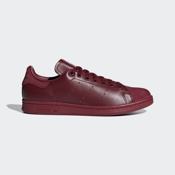 adidas stan smith leather sock mens red