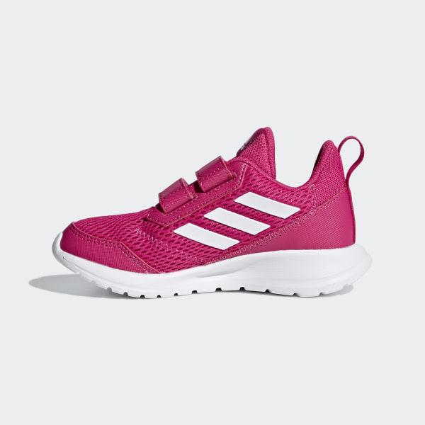 adidas flickor AltaSport Skor Cloud White Bold Pink