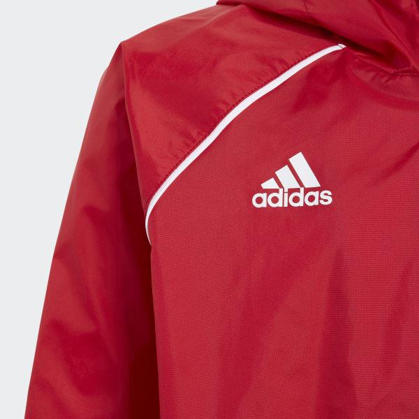 adidas Core 18 Regenjacke Rot | adidas Deutschland