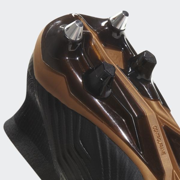 adidas Predator 18.1 Leder FG Solar GelbSchwarzSolar Rot