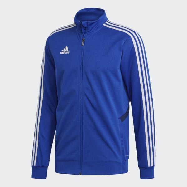 Adidas Tiro 19 Herren Trainingsanzug dark blue bold blue