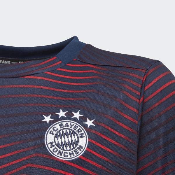adidas FC Bayern München Home Pre Match Shirt Blau | adidas Deutschland