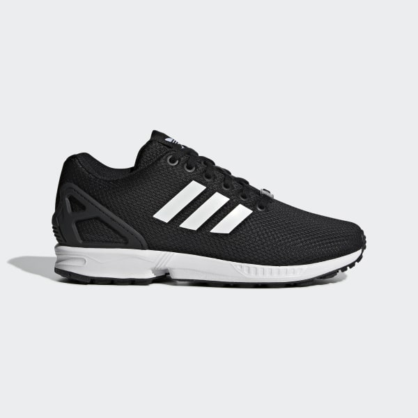 zx flux adidas komplett schwarz