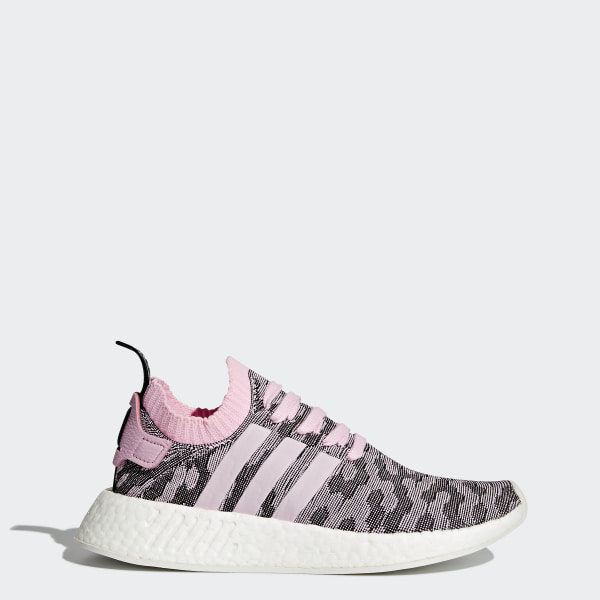 Details about Mens ADIDAS NMD_R2 PK Primeknit Black Running Trainers BB6859