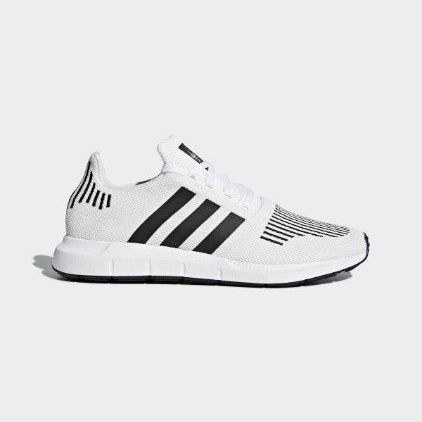 adidas Men's Swift Run Shoes Core BlackWhite