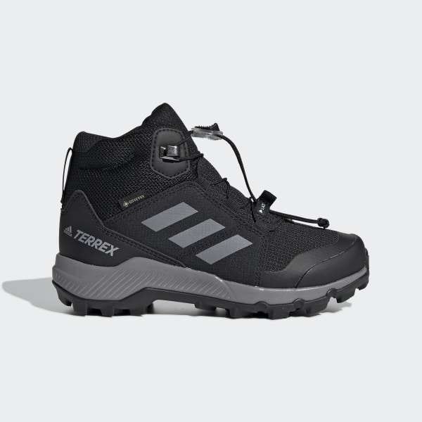 adidas Terrex Mid GORE TEX Hiking Shoes Blue | adidas US