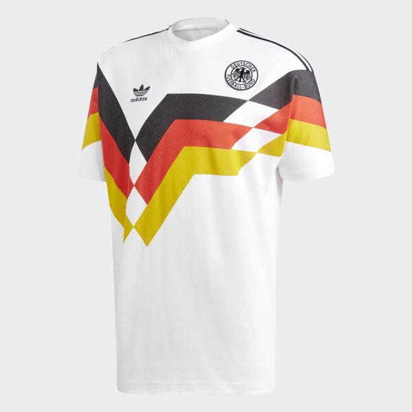 camiseta adidas alemania 10 retro