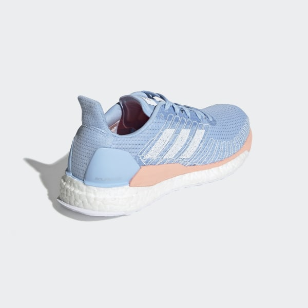 adidas Solarboost 19 Bleue et Rose pour Femme