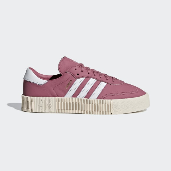 the sale of shoes good texture hot new products adidas SAMBAROSE Shoes - Burgundy | adidas UK