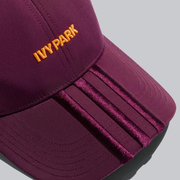 IVY PARK Backless Cap Maroon / Solar Orange GK7379