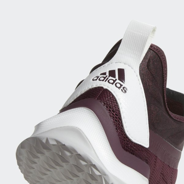 2019 New Adidas Speed Trainer 2 Baseball Shoes White Maroon