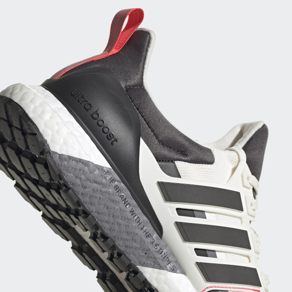 adidas UltraBOOST All Terrain Running Shoes Off WhiteGrey SixShock Red E Sz 9