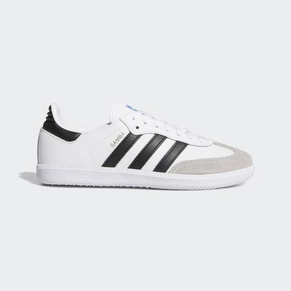 Nieuwe collectie Adidas Samba OG Leer Wit Heren Adidas
