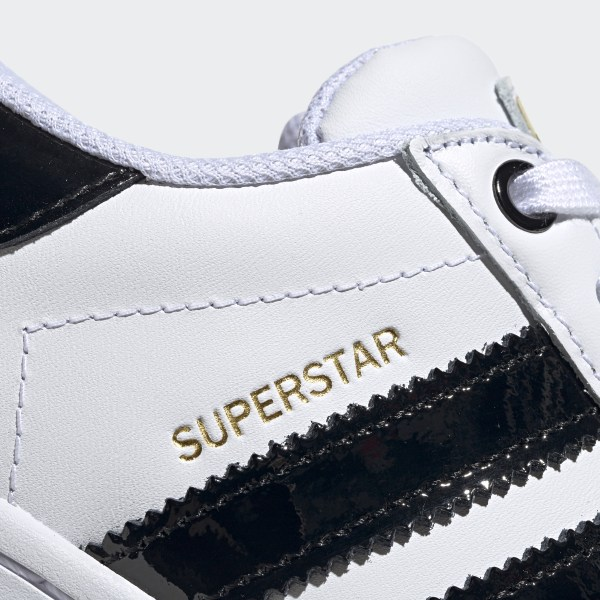 Superstar Bold Schoenen Cloud White / Core Black / Gold Metallic FV3336