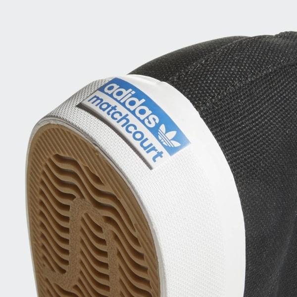 adidas Matchcourt High RX Schuh Schwarz   adidas Austria