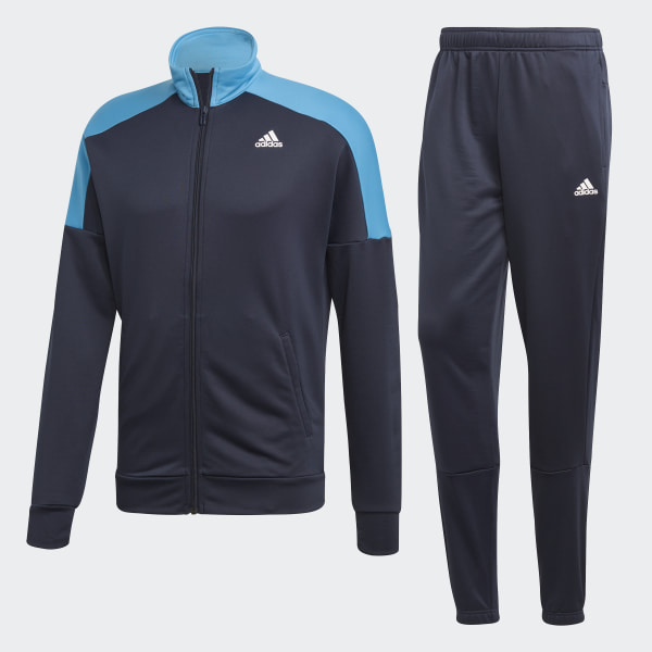 adidas Badge of Sport Trainingsanzug Blau | adidas Deutschland