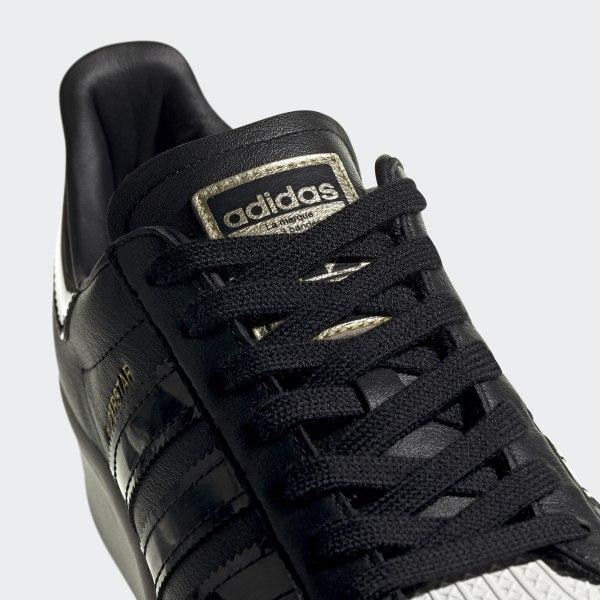 superstar adidas zwart dames