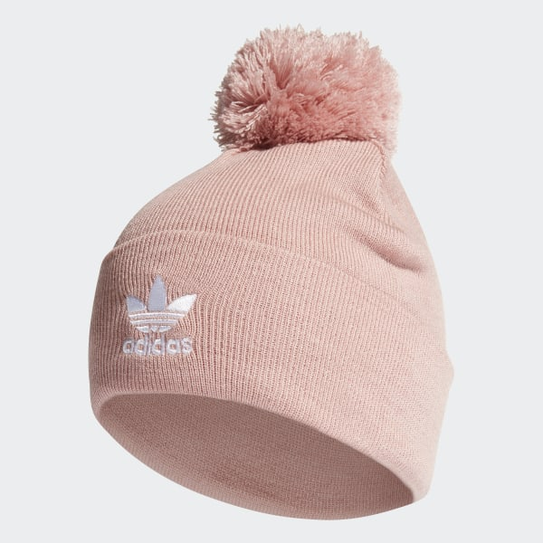 new images of cheapest price new lifestyle adidas Adicolor Bobble Beanie - Pink | adidas Australia