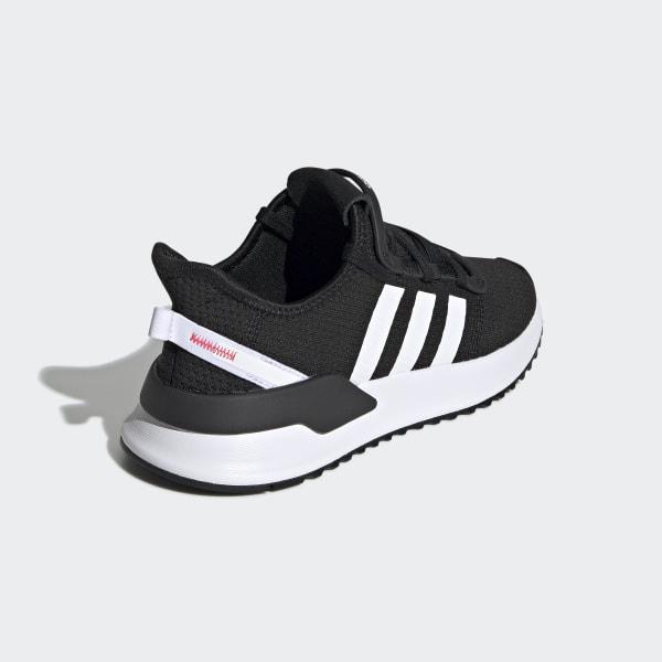 Mens adidas U_Path Run Athletic Shoe Red Monochrome
