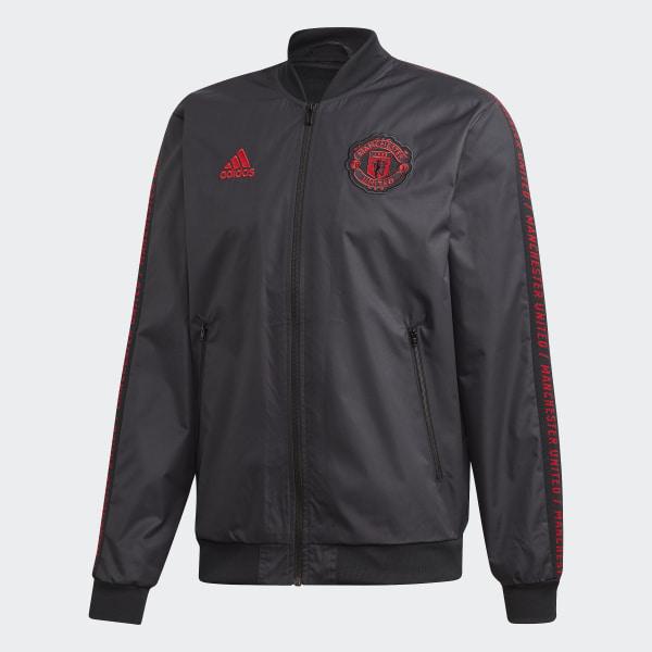 adidas Manchester United Anthem Jacket Black | adidas US