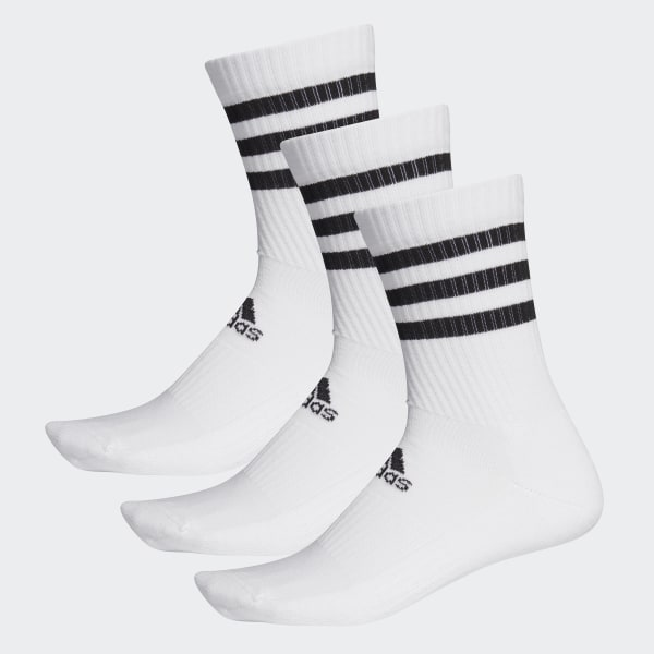 Chaussettes 3 Stripes Cushioned (3 paires)