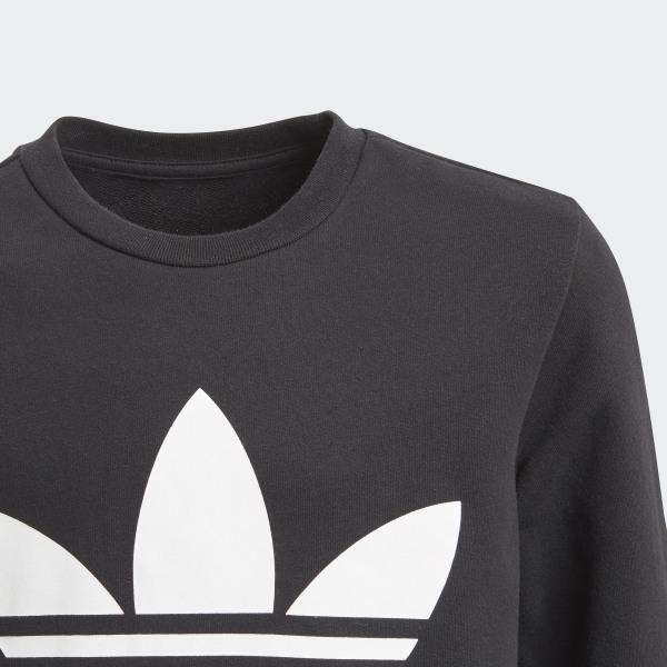 adidas Originals Junior Hoodie J TRF BlackWhite