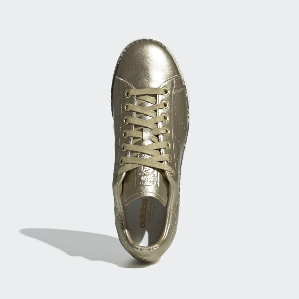 new product a65f6 f285c adidas Stan Smith New Bold Schuh - Gold   adidas Austria