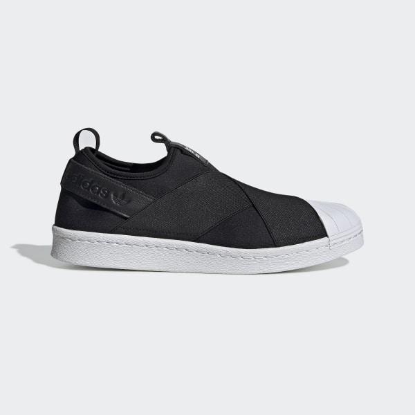 nuevo estilo y lujo nuevas imágenes de colores armoniosos Zapatillas Casuales Superstar Slip On Mujer - Negro adidas | adidas Peru