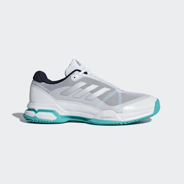 Adidas Femmes Barricade Club Chaussures De Tennis Chaussure