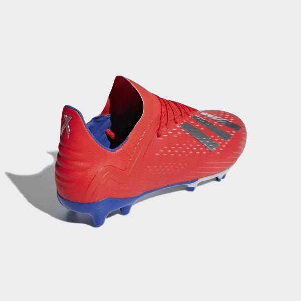 Adidas X 18.1 FG Schwarz Weiß Rot