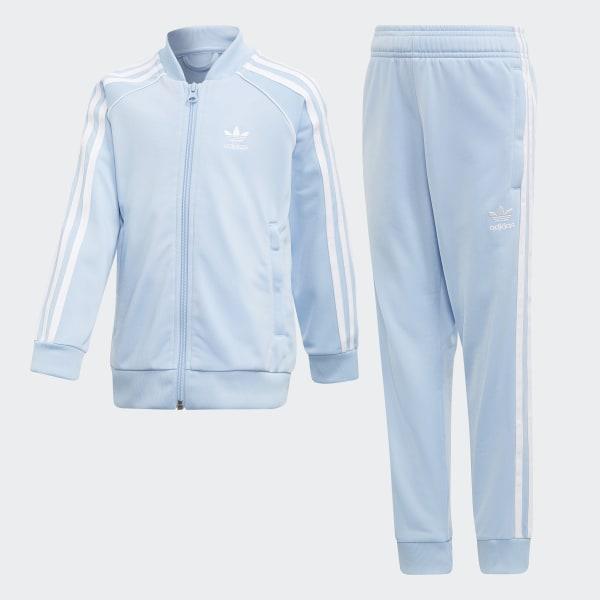 professionelles Design glatt genießen Sie besten Preis adidas SST Trainingsanzug - Blau | adidas Deutschland