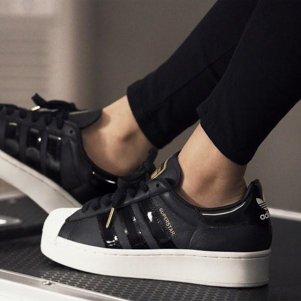 adidas superstar kids zwart