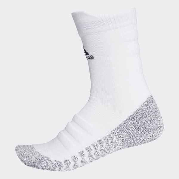 Chaussettes mi mollet Alphaskin Traxion Lightweight Cushioning Blanc adidas | adidas Switzerland