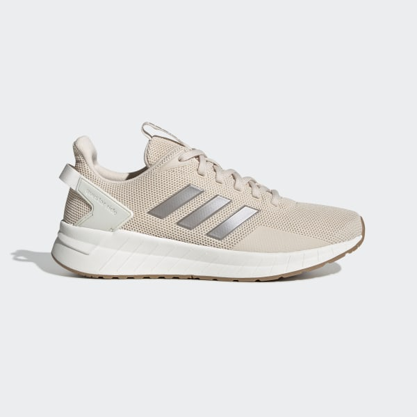 Adidas Questar Ride White Running Shoes For Women