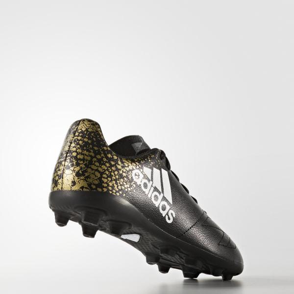 adidas X 16.4 IN WhiteCore BlackGold Metallic