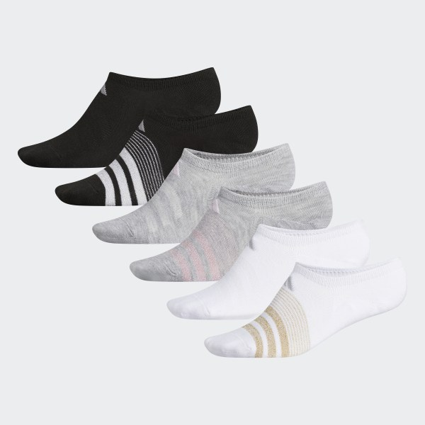 Image result for adidas women's super no show 6 pair climate socks