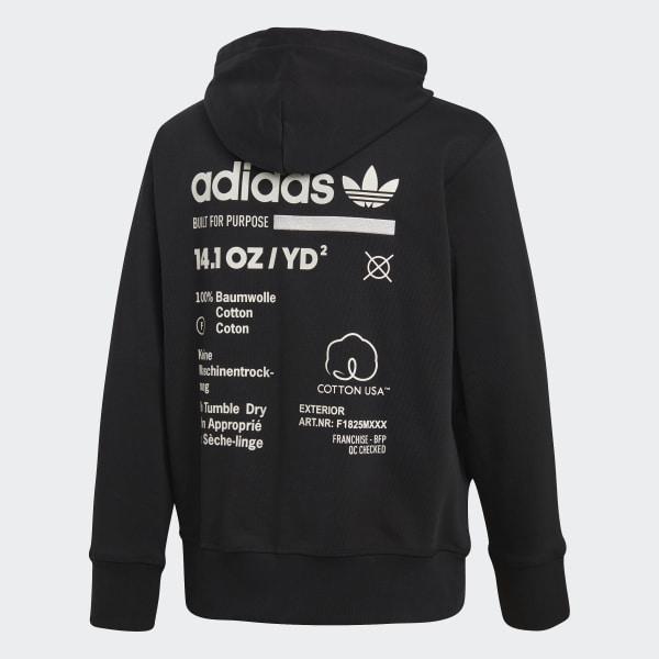 Hoodie Blackadidas adidas Kaval adidas Kaval US zMpGjSULVq