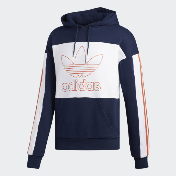 size 40 authentic quality many styles adidas Outline Hoodie - Blue | adidas Australia