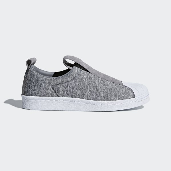 adidas superstar slip on Gris