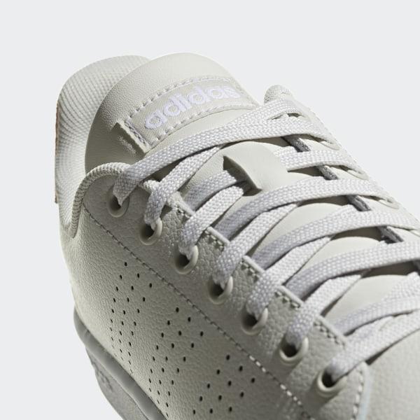 adidas turnschuh weiss damen advantage schwarze streifen