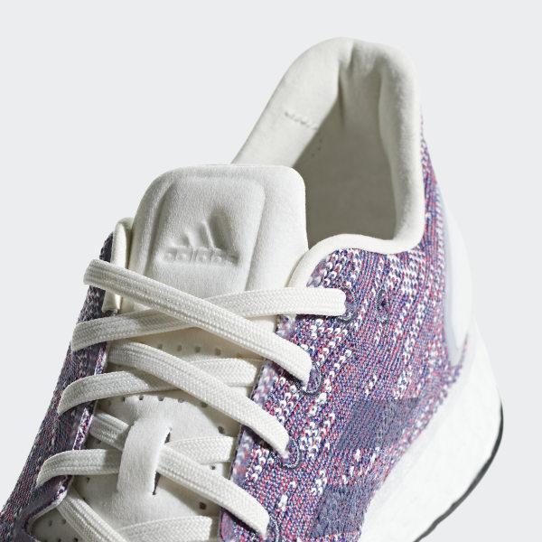 adidas Herren Pure Boost RAW Neutral Laufschuhe Weiß