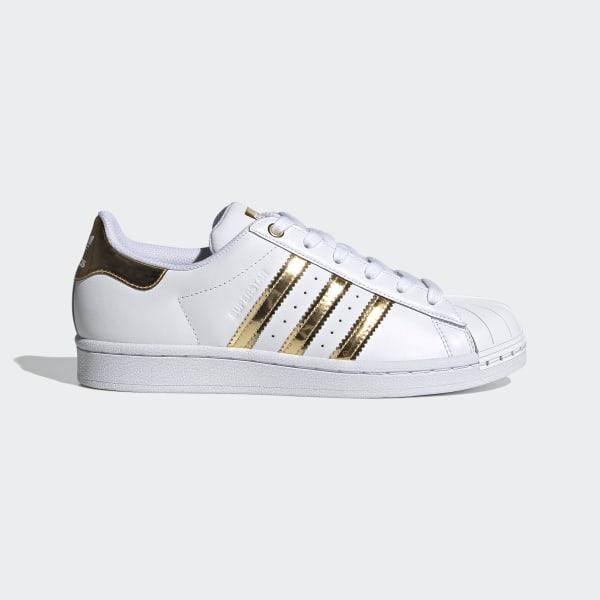 adidas Originals Women's Superstar Metal Toe W Skate Shoe Running