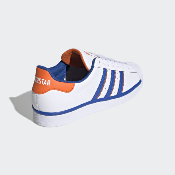 Superstar Schoenen Cloud White / Blue / Orange FV2807