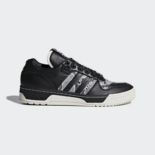 adidas UA&SONS Rivalry Lo Shoes Black | adidas US